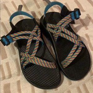 Chaco Rainbow Stripe Sandals
